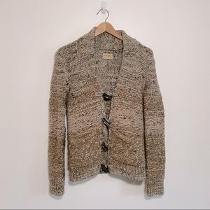 Wilfred Free   Ethos Knit Cardigan Chunky Toggles